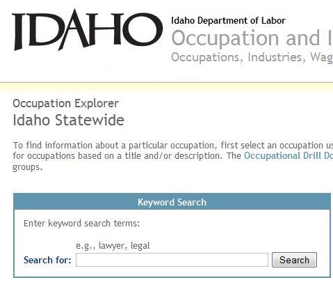 Idaho Commerce & Labor, Research & Analysis Bureau